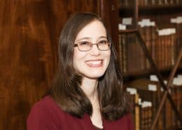 Linda August, Reference Librarian and Curator of Art & Artifacts