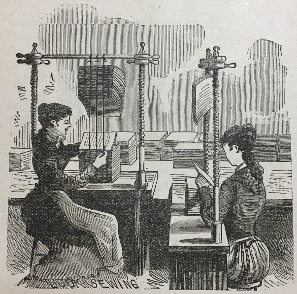 A Nineteenth Century Bindery: Research Spinoffs @ Zoom
