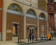 Still shot from C-SPAN Tour depicting the exterior of the Ridgeway Building.