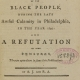 Title page from A Narrative of the Proceedings of the Black People….
