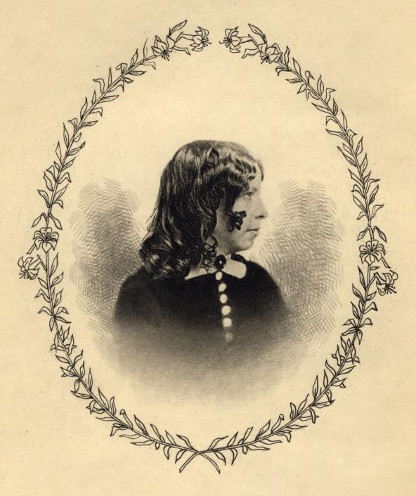 Portrait of Gail Hamilton in Gail Hamilton's Life in Letters (1901).