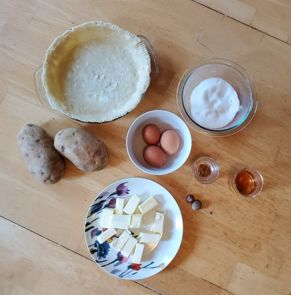 Ingredients for Quarterly Meeting Pie