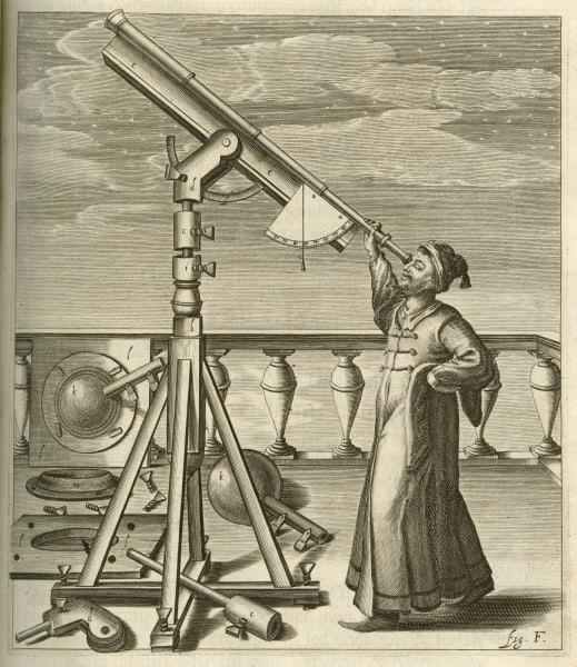 Caption: Plate in Johannes Hevelius, Johannis Hevelii Selenographia : Sive, Lunae Descriptio ... (Gedani: Autoris sumtibus, typis Hünefeldianis, 1647), opp. p. 40.