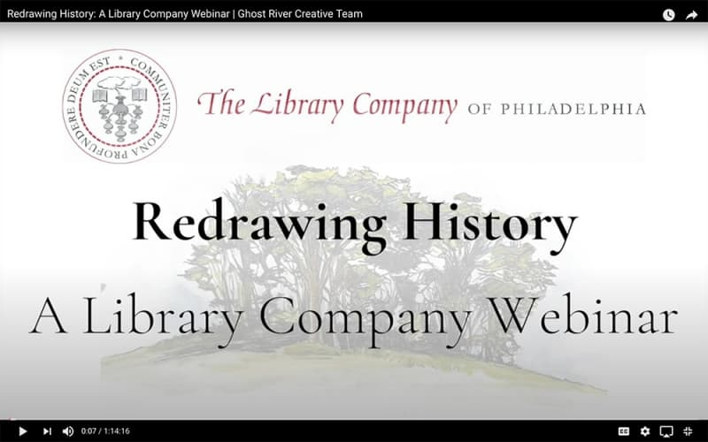 Redrawing History Symposium title card