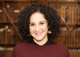 Sophia Dahab, Curatorial and Reading Room Librarian