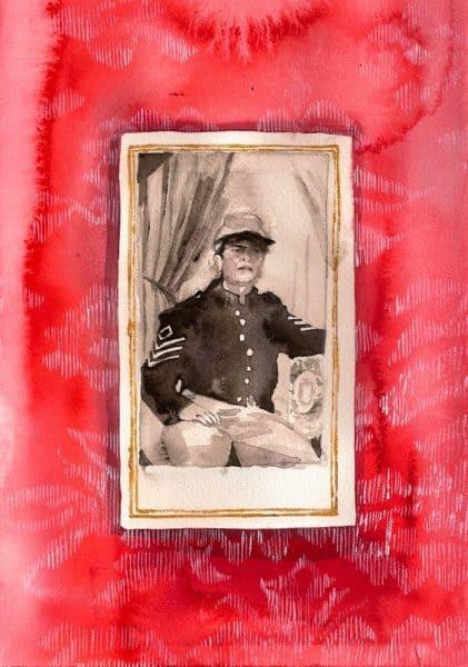 Wendy in uniform, Jennifer Levonian