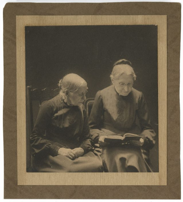 Ludecke Studio, Cousin Matttie Wright's Aunts from Wilmington, 1912. P.2015.75.