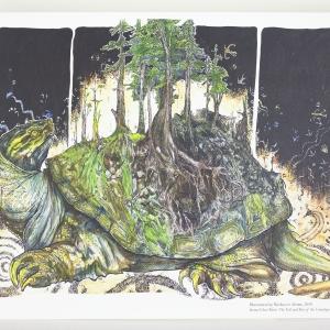 Lenape Origin Story Ghost River Print