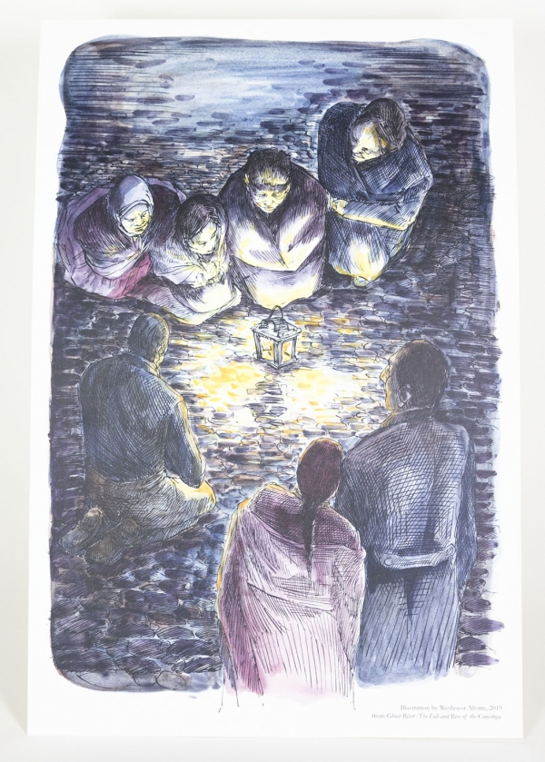 Christmas Day in the Workhouse Ghost River Print
