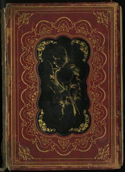 """Inlaid Papier-mache"" on The Iris: An Illuminated Souvenir for 1851. Philadelphia: Lippincott, Grambo & Co., 1851.(Gift of Michael Zinman.)"