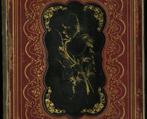 """Inlaid Papier-mache"" on The Iris: An Illuminated Souvenir for 1851. Philadelphia: Lippincott, Grambo & Co., 1851.(Gift of Michael Zinman.)"